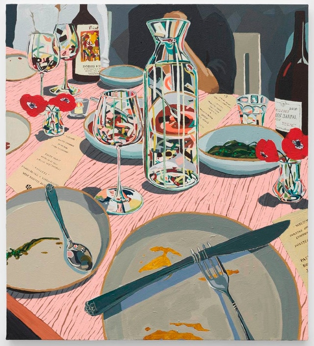 Hilary Pecis at Rachel Uffner Gallery