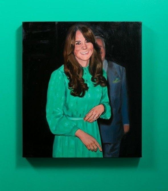 A detail of Meg Cranston's installation, <em>Emerald City</em>