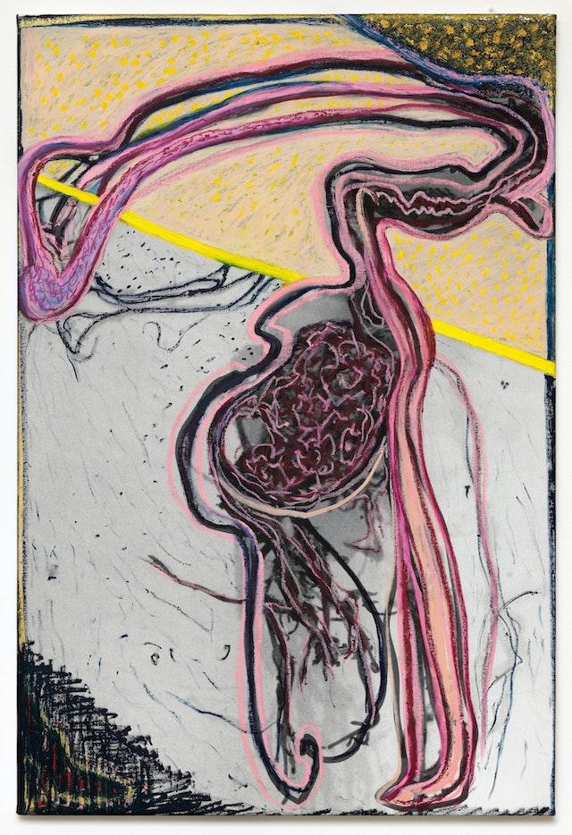 "Image of artwork titled ""Happy Nights of Dolwen de Bretagne"" by Jacqueline de  Jong"