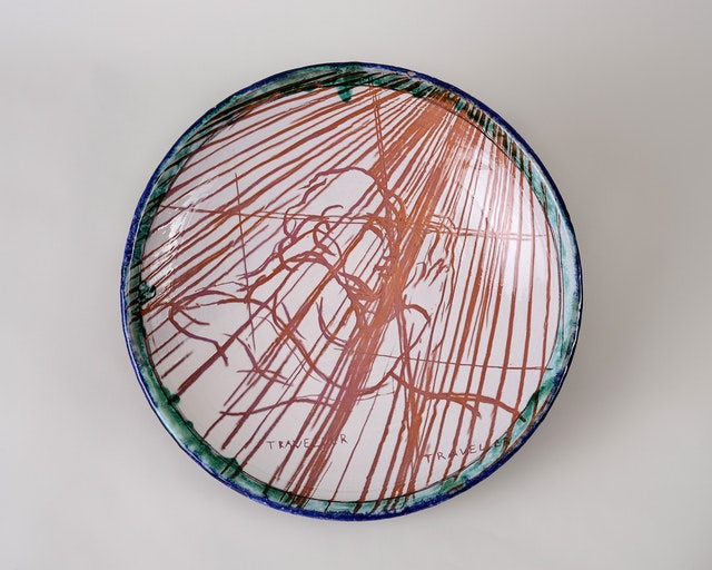 """Image of artwork titled """"Traveller"""" by Olaf Brzeski"""