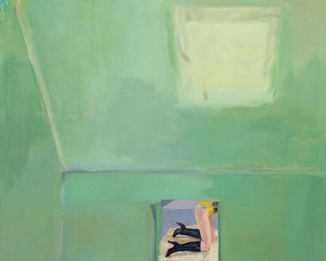 Janet Werner, <em>The Green Room</em>, 2018