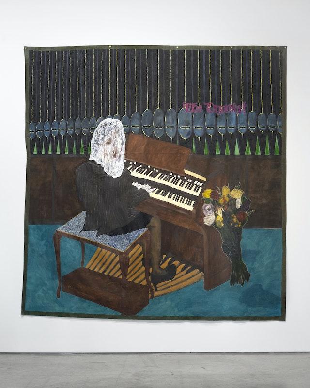 "Image of artwork titled ""The Organist"" by Preston Pavlis"