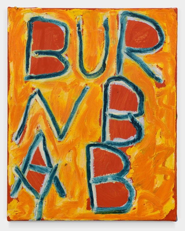 Sam Jablon, <em>Burn Baby</em>, 2019. Courtesy of Ballon Rouge Collective, Brussels.