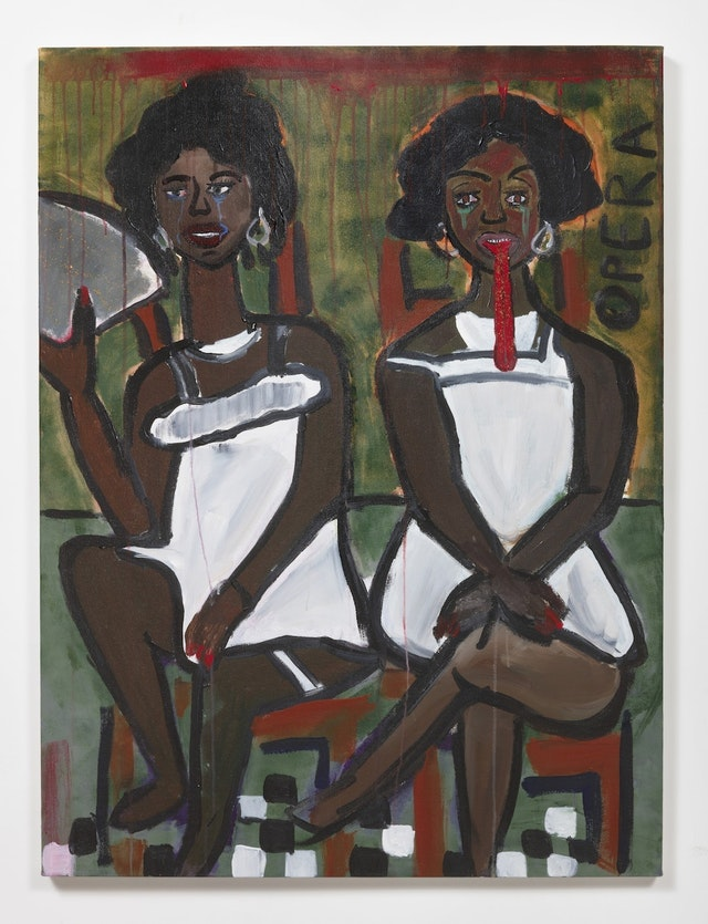 Cassi Namoda at Ghebaly Gallery, NADA Miami 2018