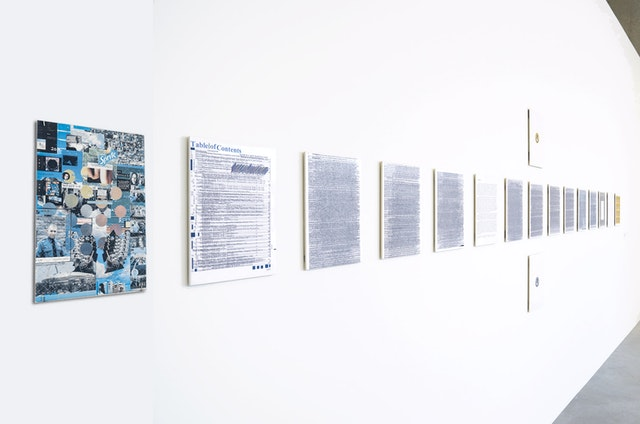 Kahlil Robert Irving, Great Rivers Biennial (installation view), September 11, 2020–February 21, 2021, CAM, St. Louis. Courtesy of the artist and CAM, St. Louis.