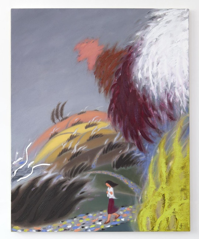 """Image of artwork titled """"Trails of Wind"""" by Guimi You"""
