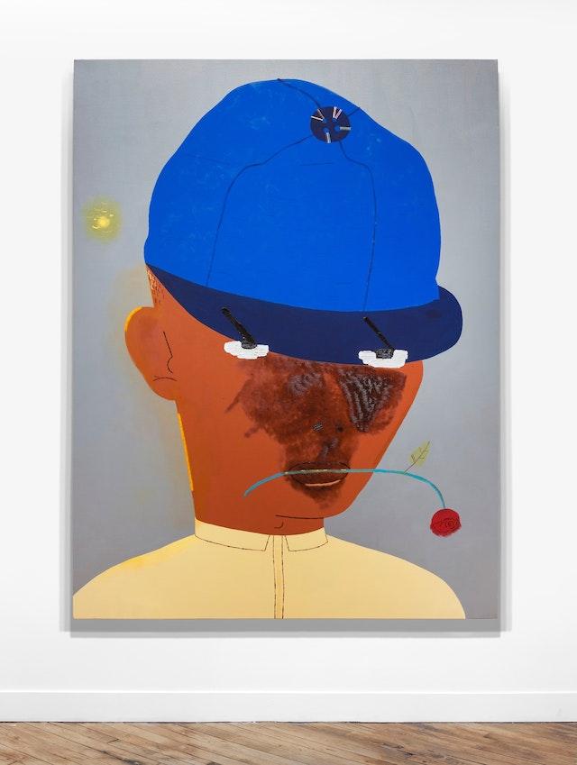 Kenny Rivero, <em>New Hat</em>, 2019. Courtesy the artist and Charles Moffett.