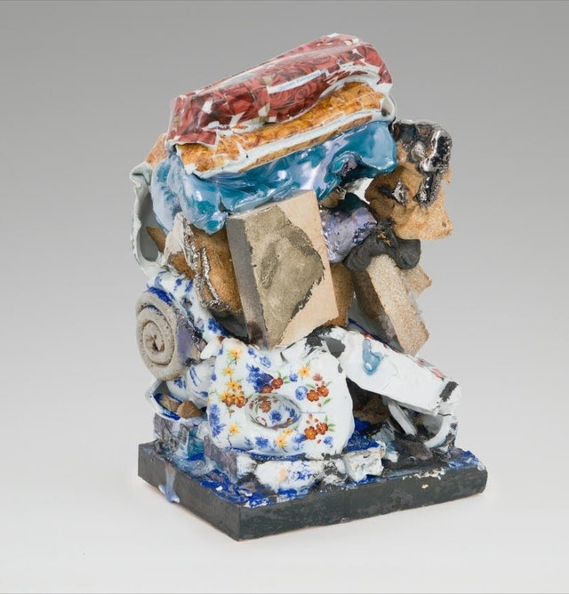 """Image of artwork titled """"Stacked Mosaic Mass"""" by Kahlil Robert Irving"""
