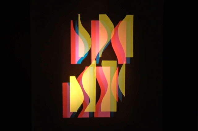 Key image for Kurt Schwerdtfeger, Reflektorishe Farblichtspiele (Reflecting Color-Light-Play)